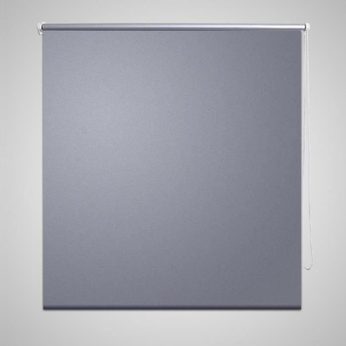 store enrouleur occultant 80 x 230 cm gris achat vente store de fen tre p. Black Bedroom Furniture Sets. Home Design Ideas