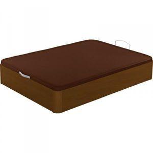 sommier coffre en bois geant 180x200 jumel cerisier. Black Bedroom Furniture Sets. Home Design Ideas