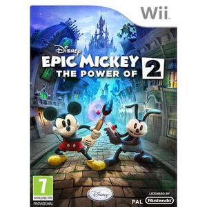 JEUX WII Disney Epic Mickey 2 - The Power of Two (Ninten...
