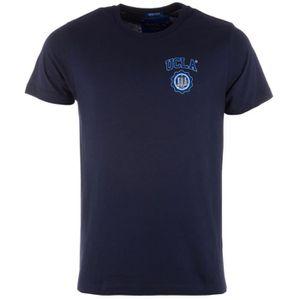 T-SHIRT T-shirt UCLA Kermit pour homme en bleu marine.