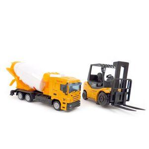 camion avec la grue achat vente jeux et jouets pas chers. Black Bedroom Furniture Sets. Home Design Ideas
