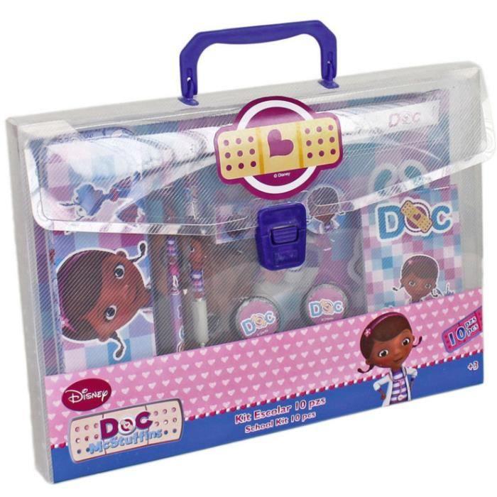 Docteur la peluche malette fournitures scolai achat vente kit de dessin docteur la - Docteur la peluche malette ...