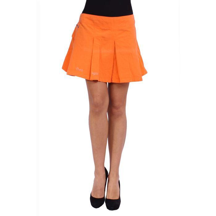 desigual jupe femme orange achat vente jupe. Black Bedroom Furniture Sets. Home Design Ideas