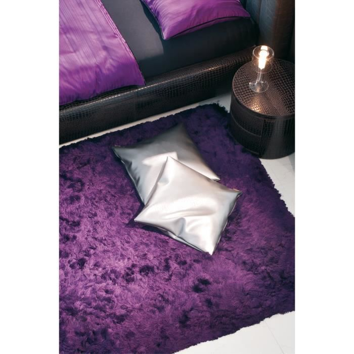 tapis shaggy a poils long imola violet 170x240 achat. Black Bedroom Furniture Sets. Home Design Ideas