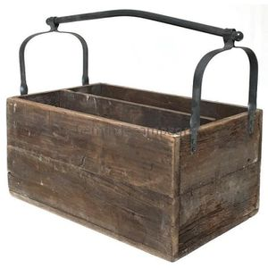 ancienne caisse en bois achat vente ancienne caisse en bois pas cher cdiscount. Black Bedroom Furniture Sets. Home Design Ideas