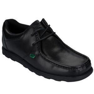 BOTTINE Chaussures Kickers Fragma à lacets en noir pour ho