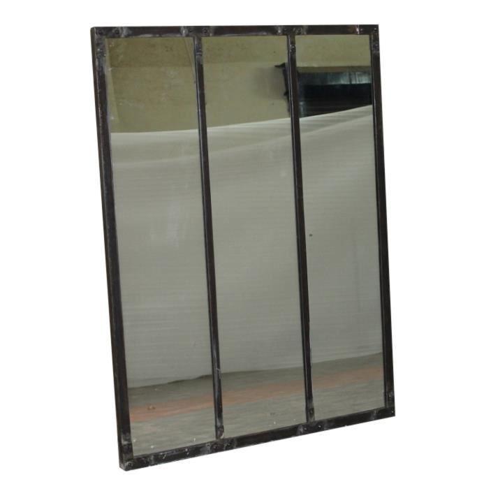 Miroir 3 panneaux vintage sixties meuble house achat for Achat de miroir