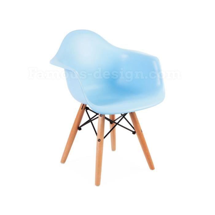 chaise enfant eames daw bleu achat vente chaise tabouret b b 2009951959199 cdiscount. Black Bedroom Furniture Sets. Home Design Ideas