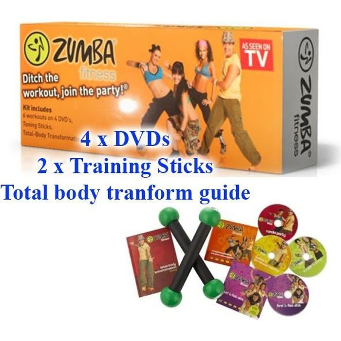 zumba fitness en dvd documentaire pas cher cdiscount. Black Bedroom Furniture Sets. Home Design Ideas