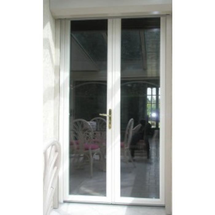 Porte fen tre h 205 cm x l 110 cm double vitrage achat vente fen tre baie vitr e porte - Porte fenetre double vitrage pvc ...