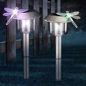 Luminaire lustre lampe lampadaire d tails jeu de 2 achat for Lustre solaire exterieur