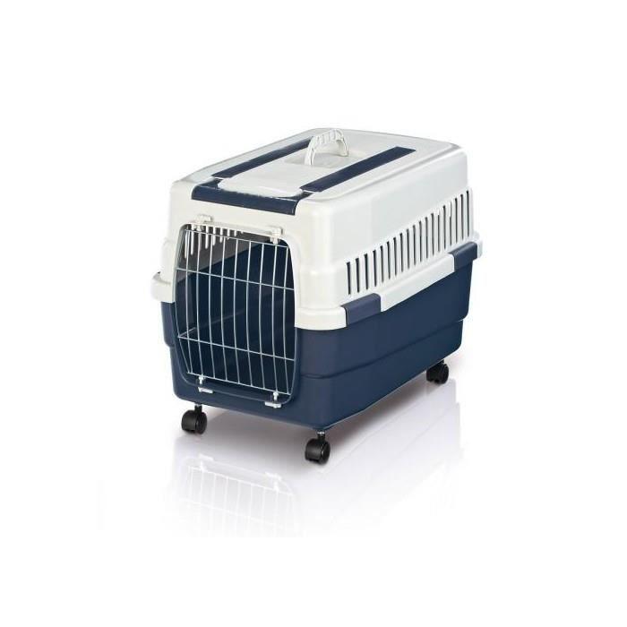 caisse de transport kim 60 sur roulettes l pour chien. Black Bedroom Furniture Sets. Home Design Ideas