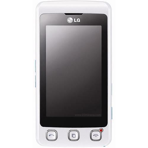 telephone lg kp500 blanc achat t l phone portable pas cher avis et meilleur prix cdiscount. Black Bedroom Furniture Sets. Home Design Ideas