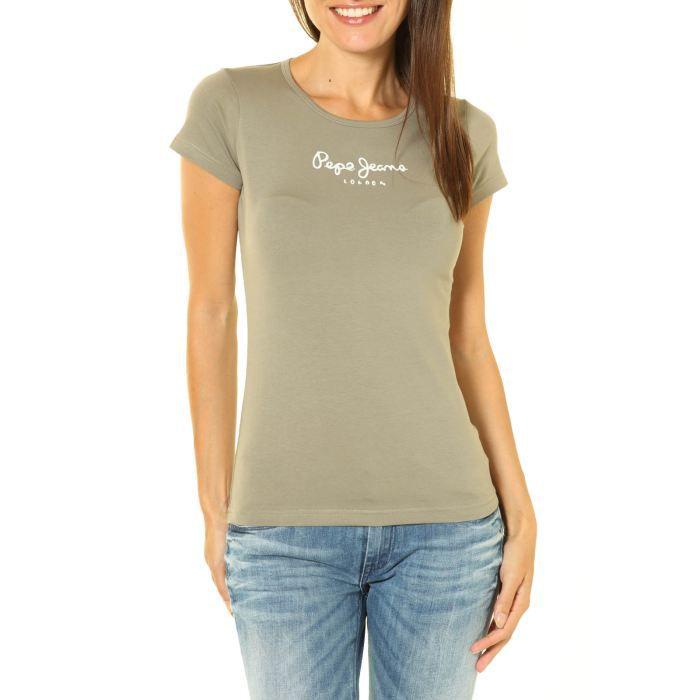 tee shirt femme pepe jeans. Black Bedroom Furniture Sets. Home Design Ideas