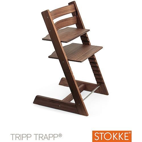 chaise stokke tripp trapp excl american walnut achat vente chaise tabouret b b chaise. Black Bedroom Furniture Sets. Home Design Ideas