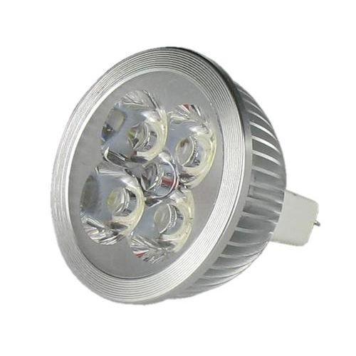 lampe led vision el gu5 3 12 volts 4x1w 6400k achat. Black Bedroom Furniture Sets. Home Design Ideas