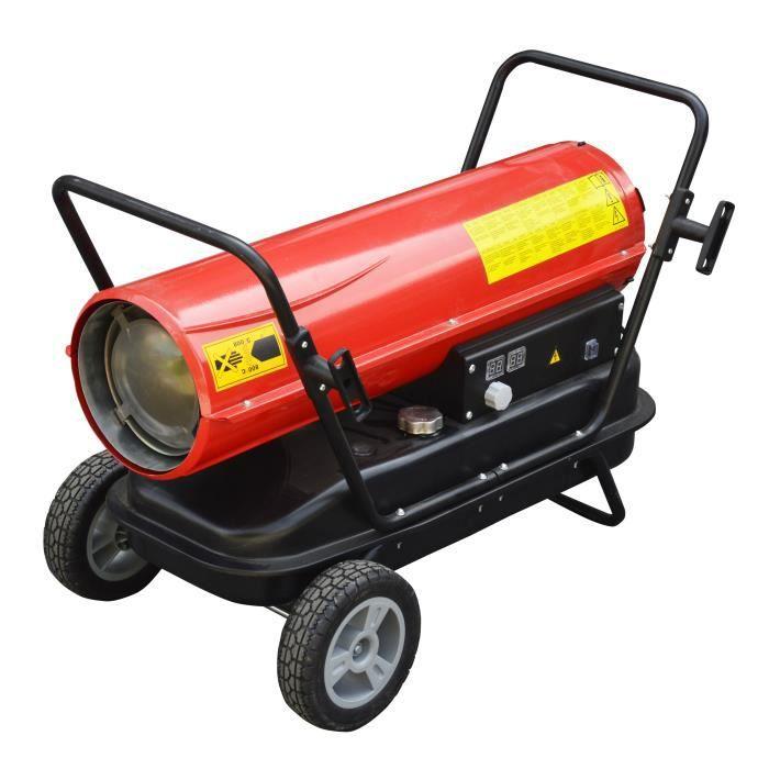 canon chaleur fioul diesel 30kw pro sur chariot hangar d p t atelier magasin achat vente. Black Bedroom Furniture Sets. Home Design Ideas
