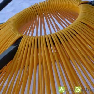 Fauteuil acapulco jaune achat vente fauteuil acapulco - Fauteuil acapulco pas cher ...