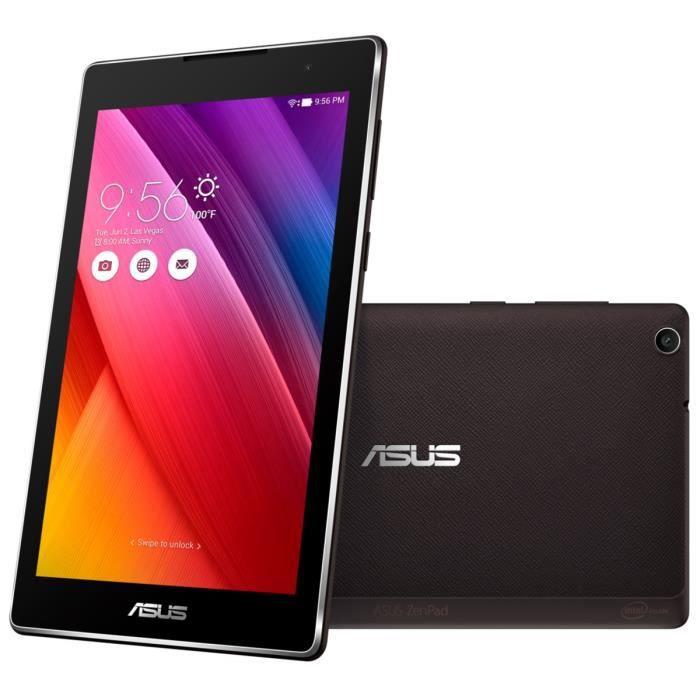 asus tablette tactile zenpad z170c 7 ips 1go ram android 5 0 intel atom rom 16go. Black Bedroom Furniture Sets. Home Design Ideas