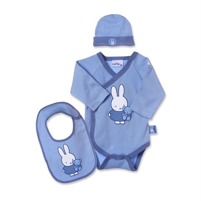 Miffy Coffret Cadeau Naissance 3 Pi Ces Gar On Achat Vente Coffret Cadeau Textile Miffy