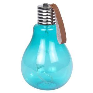 Ampoule ? suspendre 11,5x11,5x20cm - Turquoise