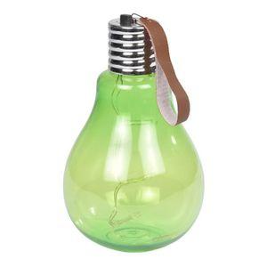 Ampoule ? suspendre 11,5x11,5x20cm - Vert anis