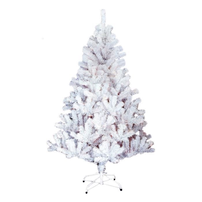 sapin de no l artificiel norway 210 branches hauteur 120 cm blanc achat vente pied de sapin. Black Bedroom Furniture Sets. Home Design Ideas