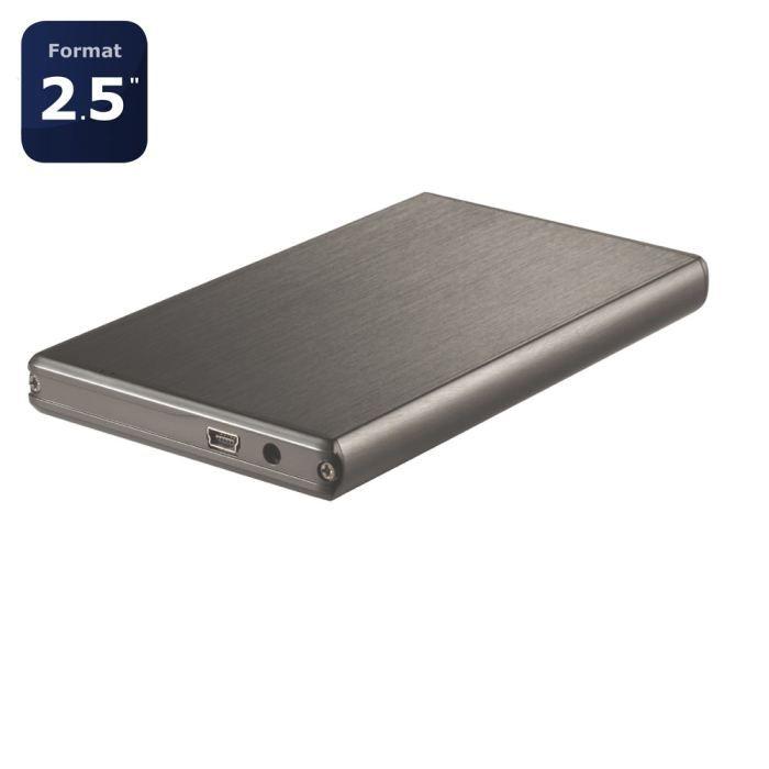 smartteck boitier externe 2 5 slim prix pas cher cdiscount. Black Bedroom Furniture Sets. Home Design Ideas