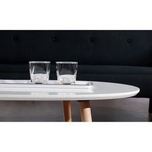 Table scandinave extensible achat vente table for Table basse scandinave laque