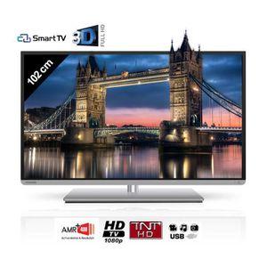 Téléviseur LED TOSHIBA 40L5441DG Smart TV 3D 102 cm