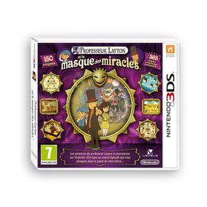 JEU 3DS PROFESSEUR LAYTON ET LE MASQUE DES MIRACLES / 3DS