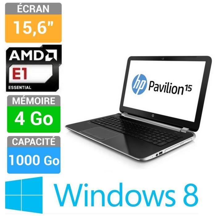 informatique ordinateurs pc portables hp pavilion  nsf f feea