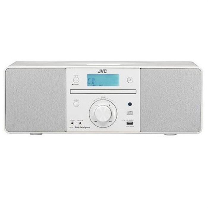 jvc rd n1e blanc radio cd cassette prix pas cher cdiscount. Black Bedroom Furniture Sets. Home Design Ideas