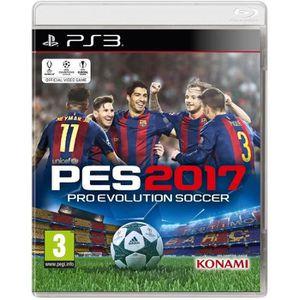 JEU PS3 NOUVEAUTÉ PES 2017 Jeu PS3