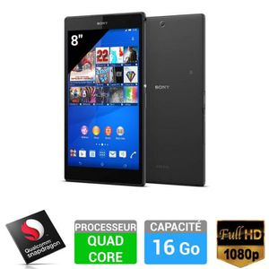 "TABLETTE TACTILE Sony Xperia™ Z3 Tablet Compact 8"" 16Go Noir"