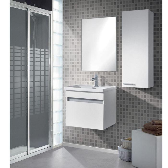 koncept meuble suspendre miroir lavabo achat vente koncept meuble suspendre cdiscount. Black Bedroom Furniture Sets. Home Design Ideas