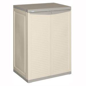 Allibert armoire de rangement basse harmony achat vente etabli meuble atelier plastique - Armoire a cigare occasion ...