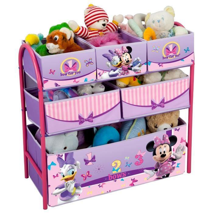 minnie meuble de rangement enfant jouets 6 bacs achat vente meuble classement mn meuble de. Black Bedroom Furniture Sets. Home Design Ideas