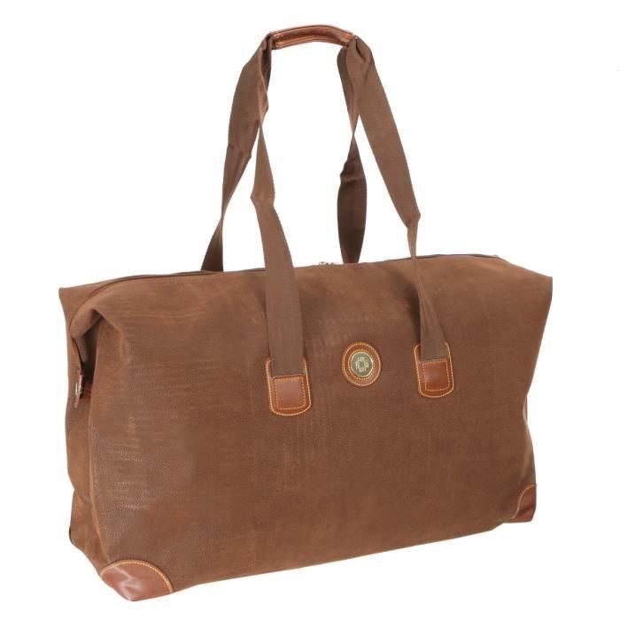 lys sac week end 73 cm marron achat vente sac de voyage lys sac de voyage week end cdiscount. Black Bedroom Furniture Sets. Home Design Ideas