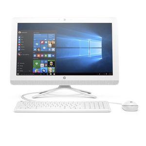 """ORDINATEUR TOUT-EN-UN HP PC tout en un- 22b011nf- 22"""" FHD- 4 Go de RAM -"""