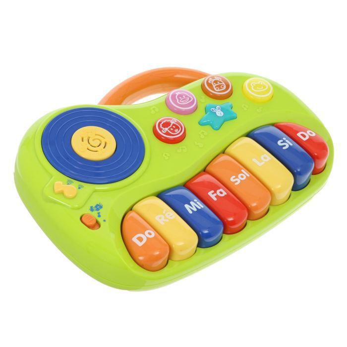 petit piano 8 notes 2 modes de jeu 10 chants achat vente instrument de musique cdiscount. Black Bedroom Furniture Sets. Home Design Ideas