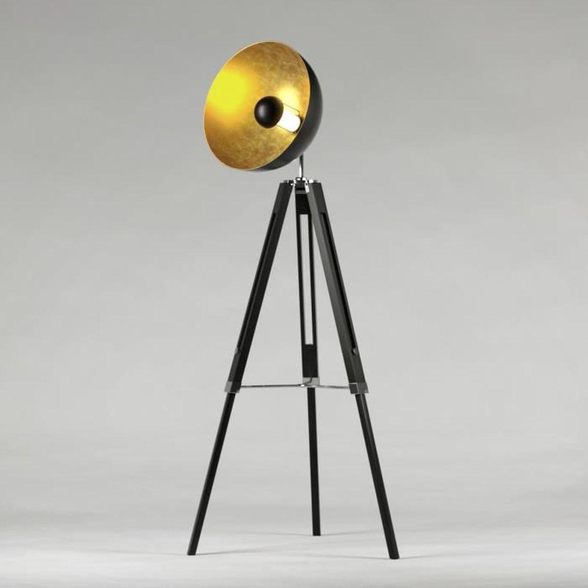 lampadaire achat vente lampadaire pas cher les soldes sur cdiscount cdiscount. Black Bedroom Furniture Sets. Home Design Ideas