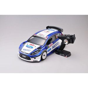 VOITURE À CONSTRUIRE DRX VE FORD FIESTA S2000 4WD READYSET EP (2.4Ghz)