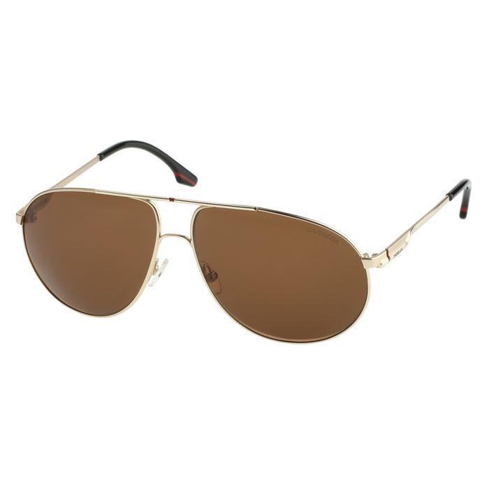 carrera lunettes de soleil carrera 58 homme dor achat vente lunettes de soleil cdiscount. Black Bedroom Furniture Sets. Home Design Ideas