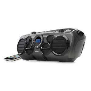 Récepteur audio AKAI AB-51T - Radio CD, MP3, USB - Noir