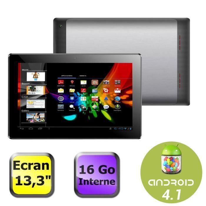 destockage polaroid tablette 13 3 39 39 16 go tablette tactile au meilleur prix cdiscount. Black Bedroom Furniture Sets. Home Design Ideas