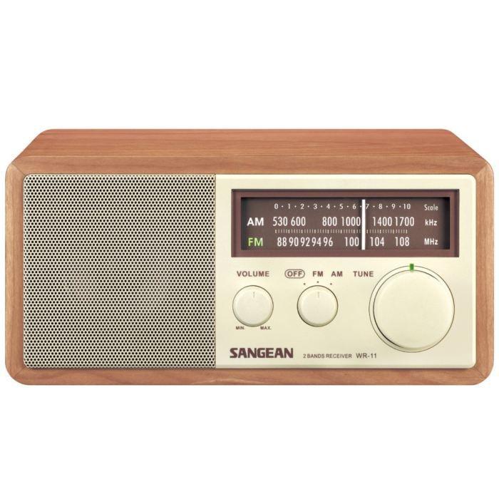 sangean wr 11 wa radio analogique haut de gamme radio cd cassette avis et prix pas cher. Black Bedroom Furniture Sets. Home Design Ideas