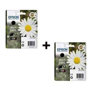 CARTOUCHE IMPRIMANTE Epson T1811 XL Cartouche d'encre Noir x2