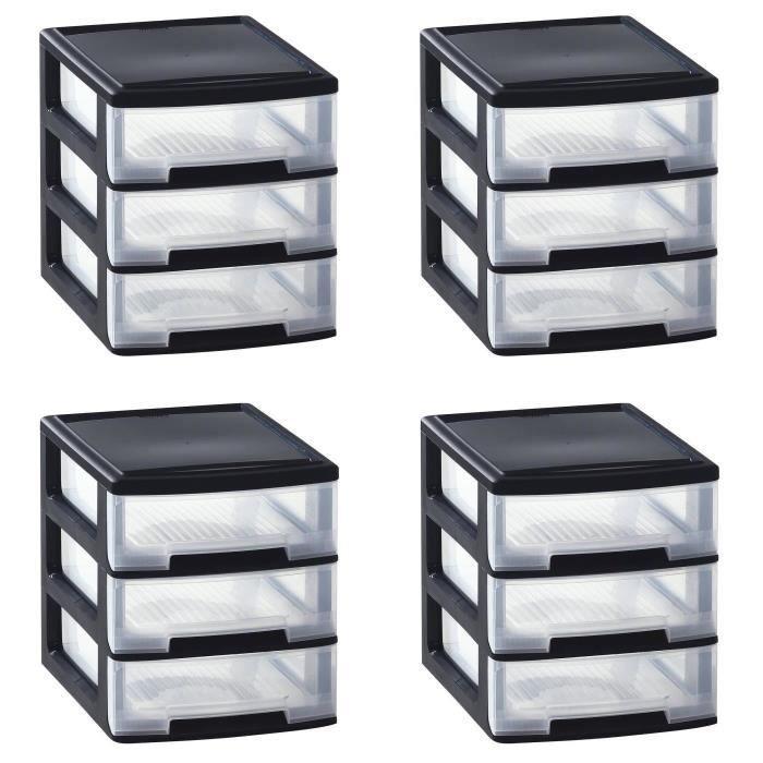 rangement bureau 4 tiroirs achat vente rangement bureau 4 tiroirs pas cher les soldes sur. Black Bedroom Furniture Sets. Home Design Ideas