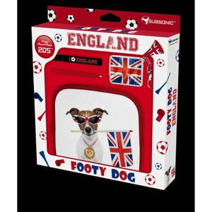 PACK ACCESSOIRE Pochette de Transport Footy Dog Angleterre 2DS